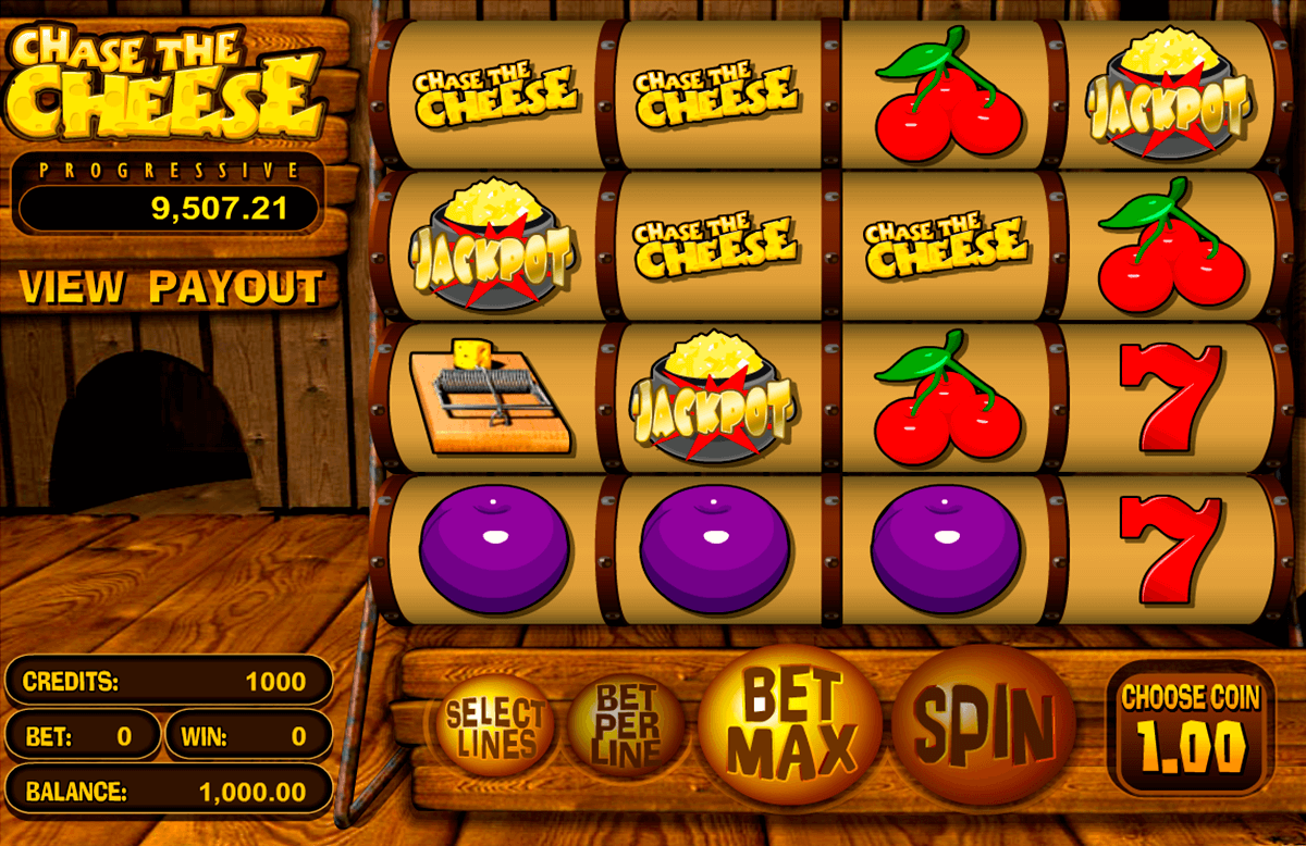 chase the cheese betsoft tragamonedas gratis
