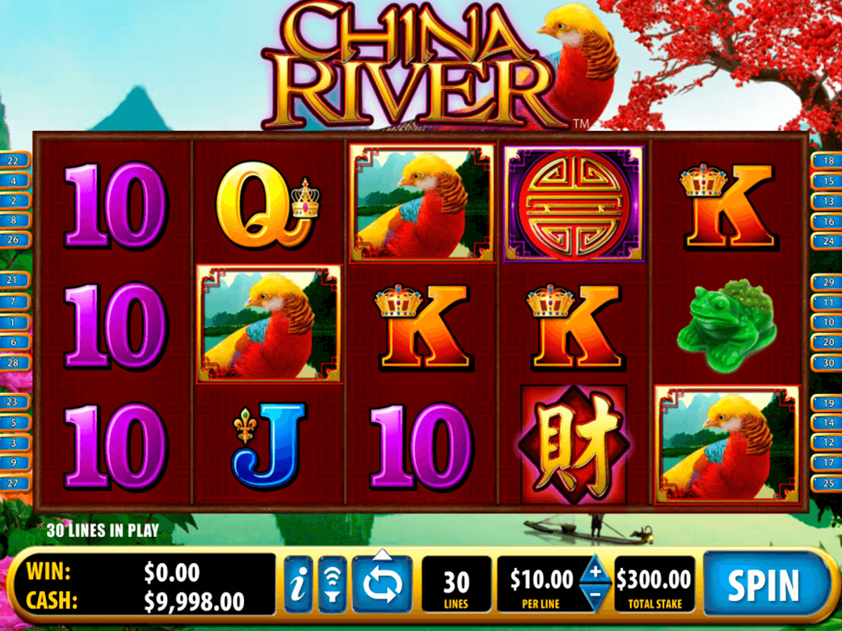 china river bally tragamonedas gratis