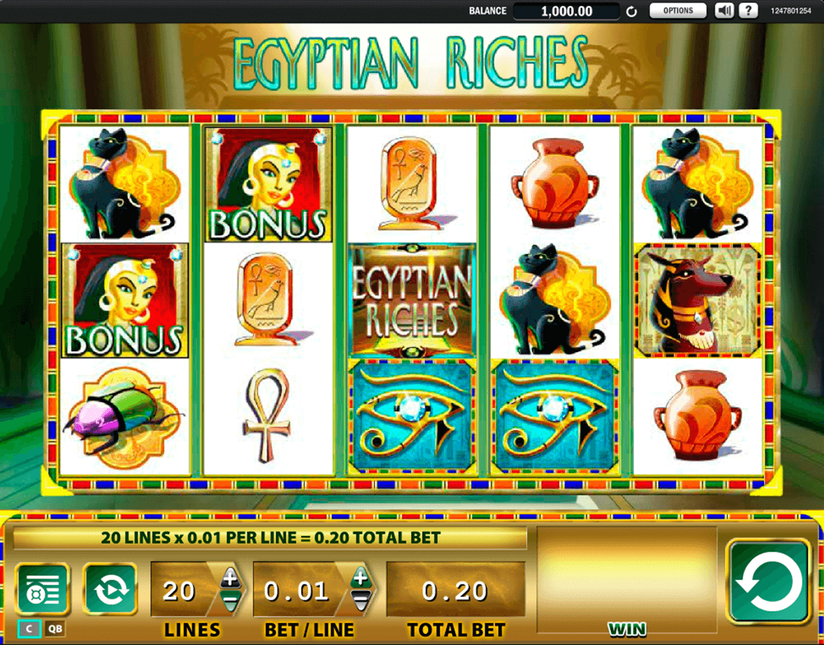 egyptian riches wms tragamonedas gratis