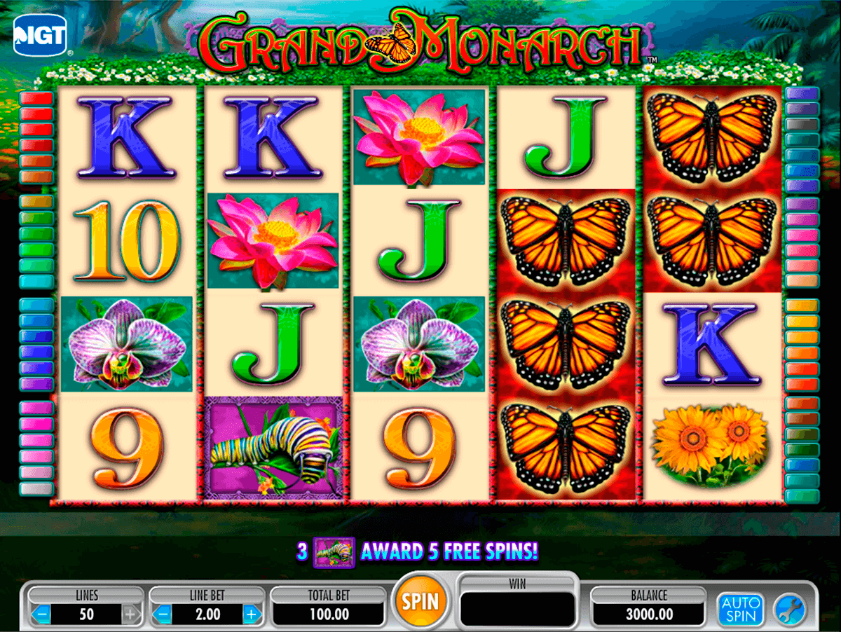 grand monarch igt tragamonedas gratis