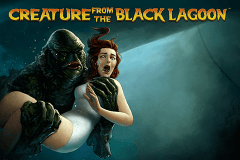 logo creature from the black lagoon netent juegos casino