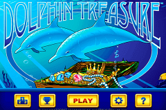logo dolphin treasure aristocrat juegos casino