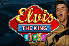 logo elvis the king lives wms juegos casino
