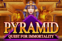 logo pyramid quest for immortality netent juegos casino
