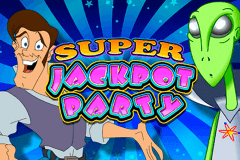 logo super jackpot party wms juegos casino