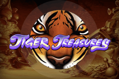 logo tiger treasures bally juegos casino