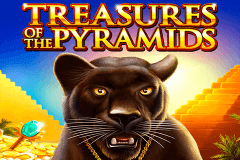 logo treasures of the pyramids igt juegos casino