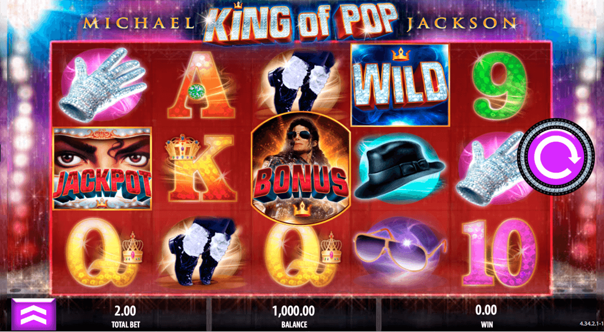 michael jackson king of pop bally tragamonedas gratis