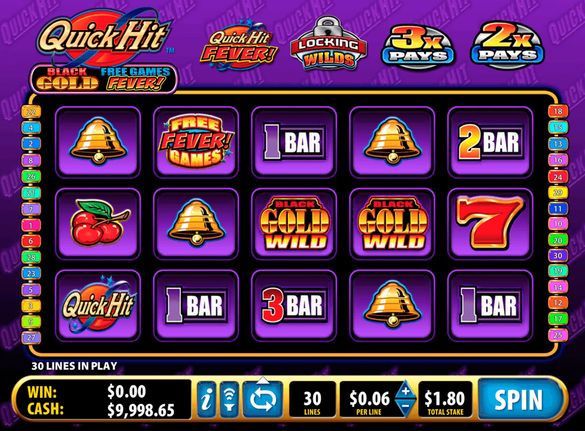 quick hit black gold bally tragamonedas gratis