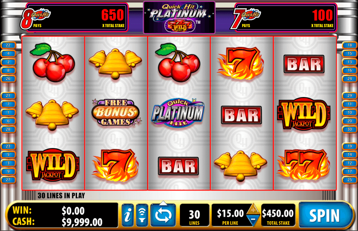 quick hit platinum bally tragamonedas gratis