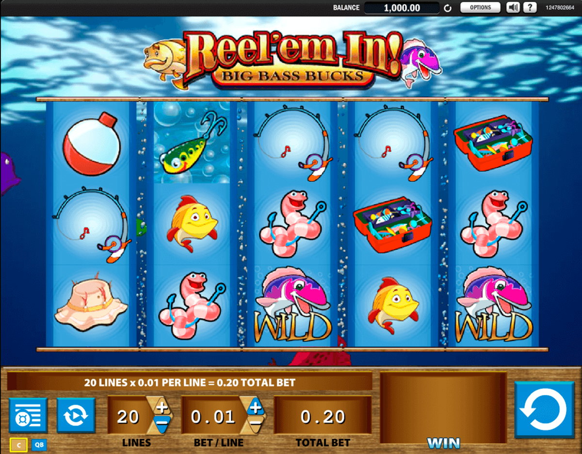 reelem in big bass bucks wms tragamonedas gratis