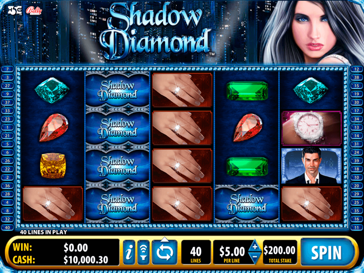 shadow diamond bally tragamonedas gratis