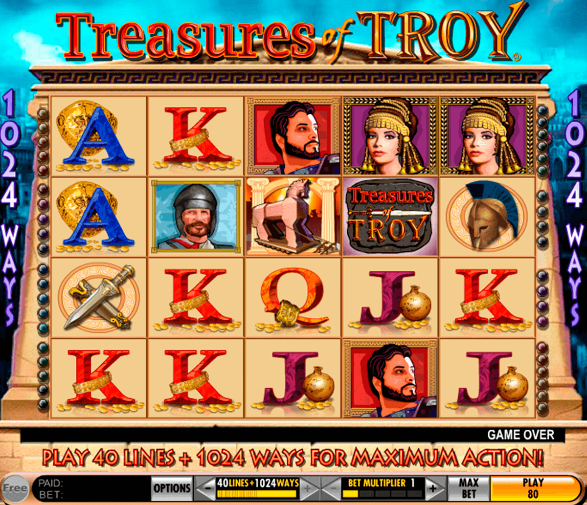 treasures of troy igt tragamonedas gratis