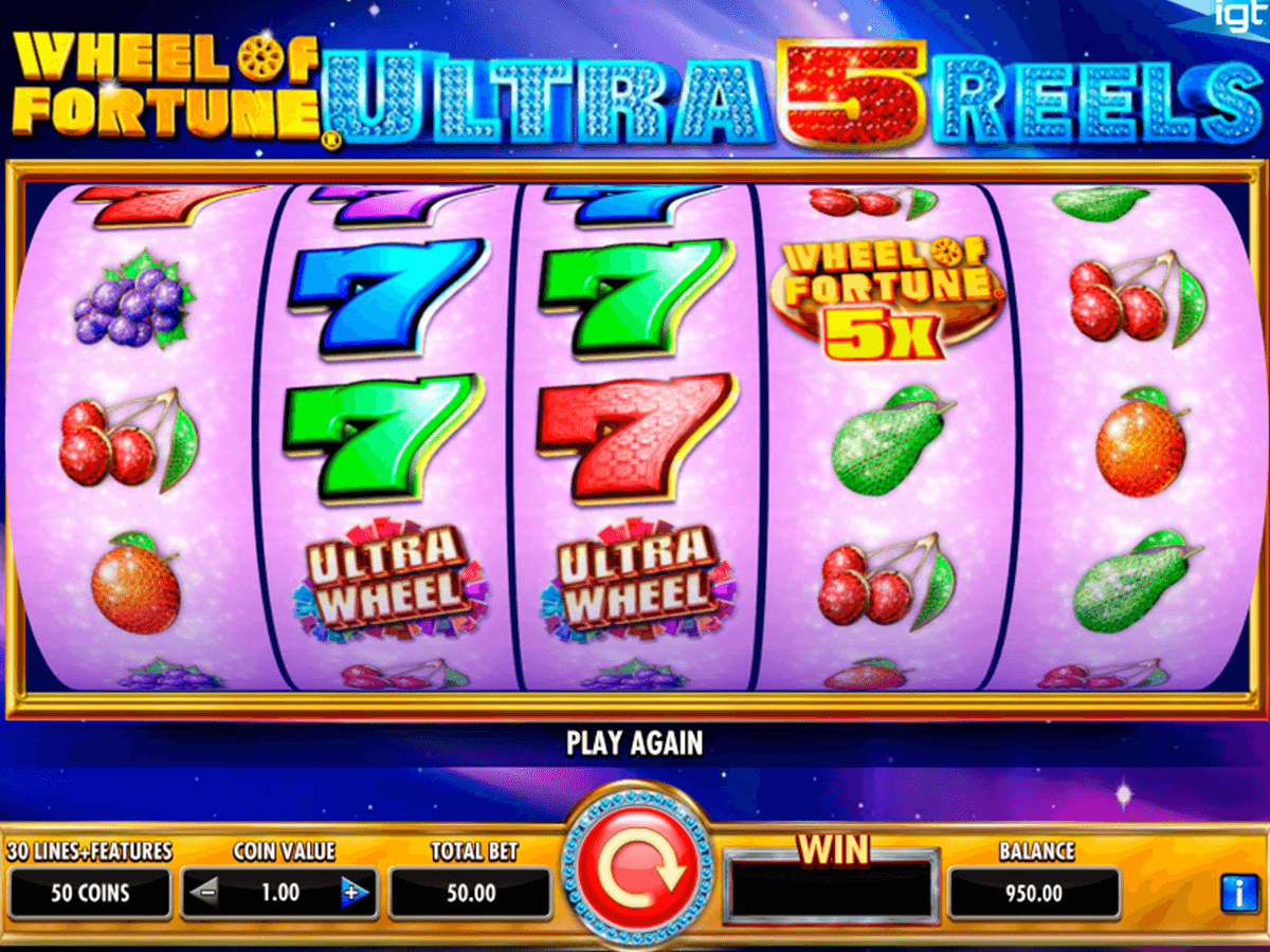 wheel of fortune ultra 5 reels igt tragamonedas gratis