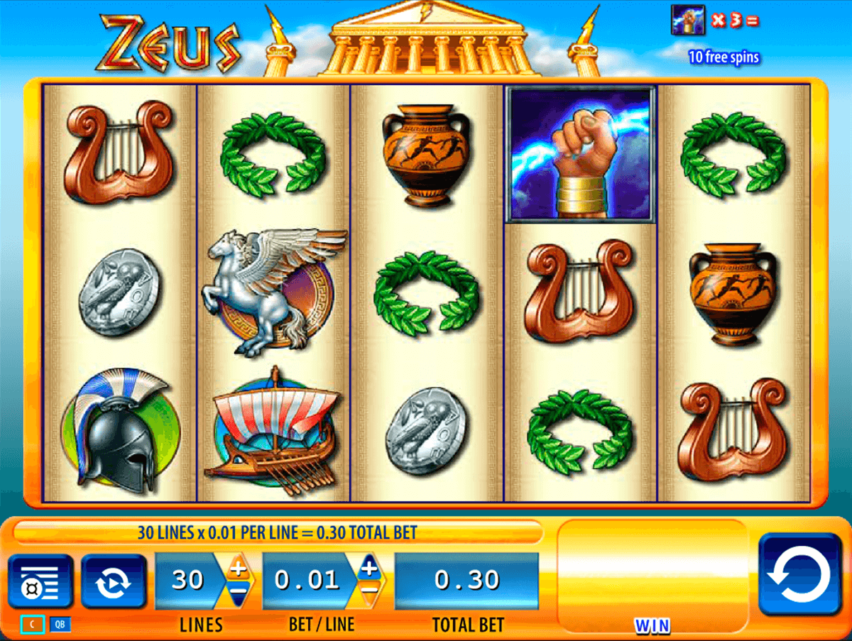 Zeus slot machine free online play