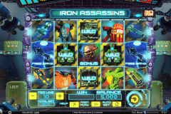 iron assassins spinomenal tragamonedas gratis
