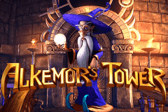 logo alkemors tower betsoft juegos casino