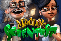 logo madder scientist betsoft juegos casino