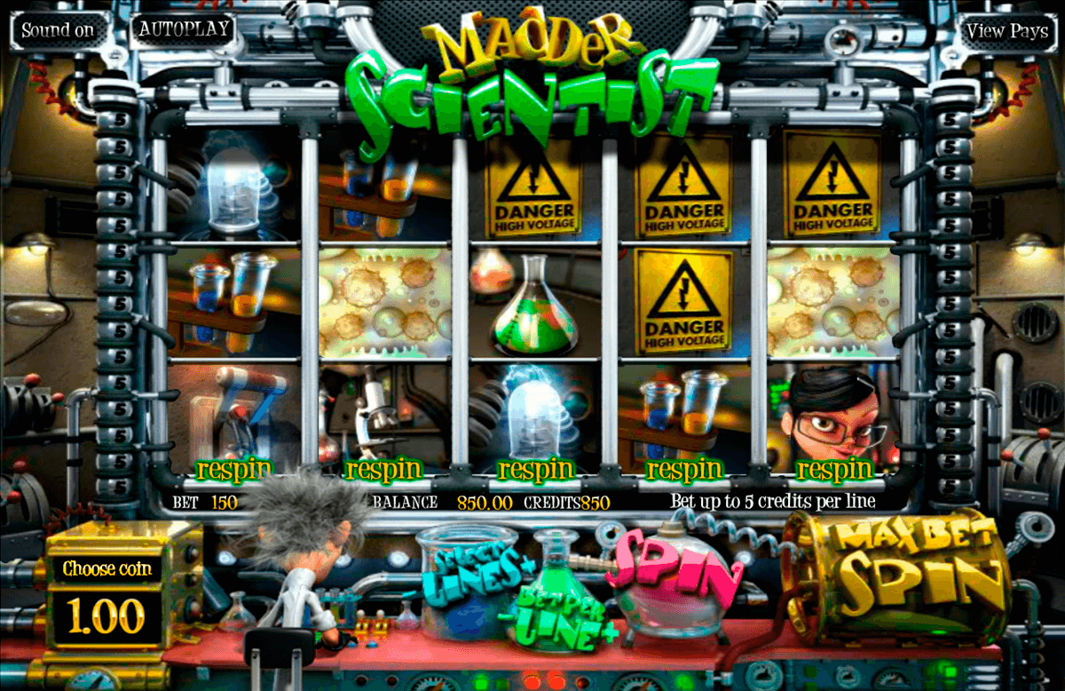 madder scientist betsoft tragamonedas gratis