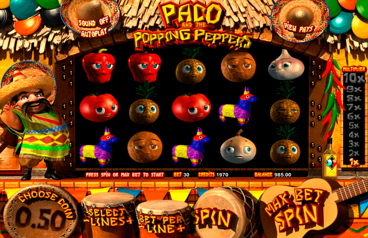 paco and the popping peppers betsoft tragamonedas gratis