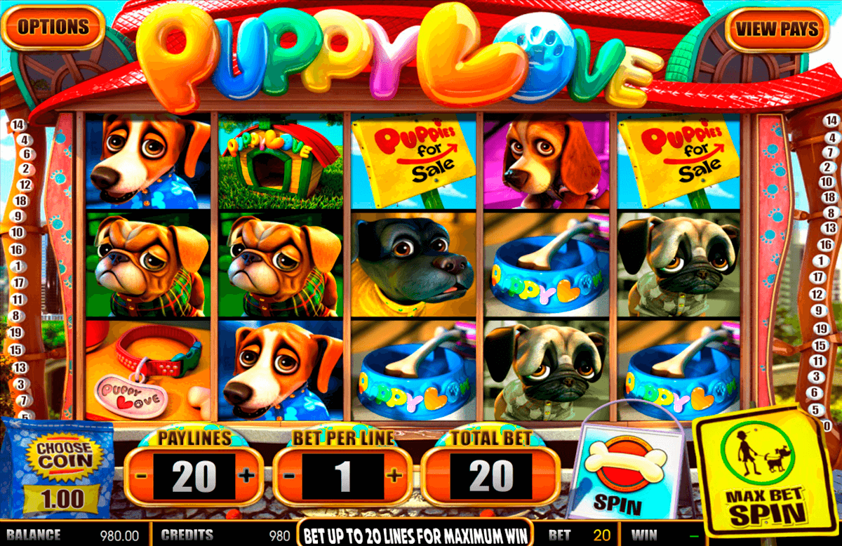 puppy love betsoft tragamonedas gratis